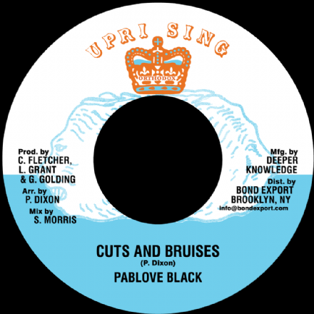 Pablove Black - Cuts & Bruises / Advocates Aggregation - Blood Of The Lamb (Uprising / DKR) 7